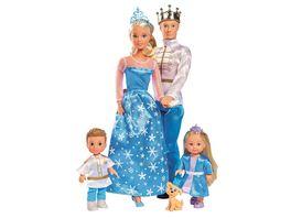 Simba Steffi Love Familien Set XXl Koenigliche Familie