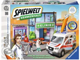 Ravensburger tiptoi Spielwelt Krankenhaus