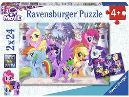 Ravensburger Puzzle Zauberhafte Ponys 2 x 24 Teile