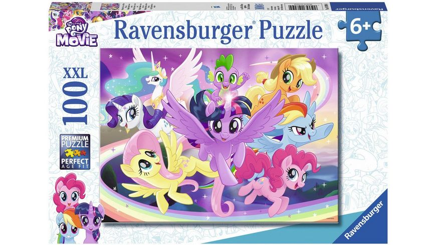 Ravensburger Puzzle Twilight Sparkle und ihre Freunde 150 Teile XXL