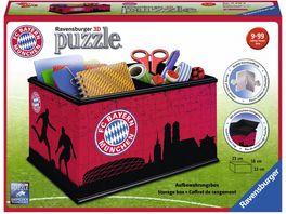 Ravensburger Puzzle 3D Puzzle Sonderformen Aufbewahrungsbox FC Bayern Muenchen 216 Teile