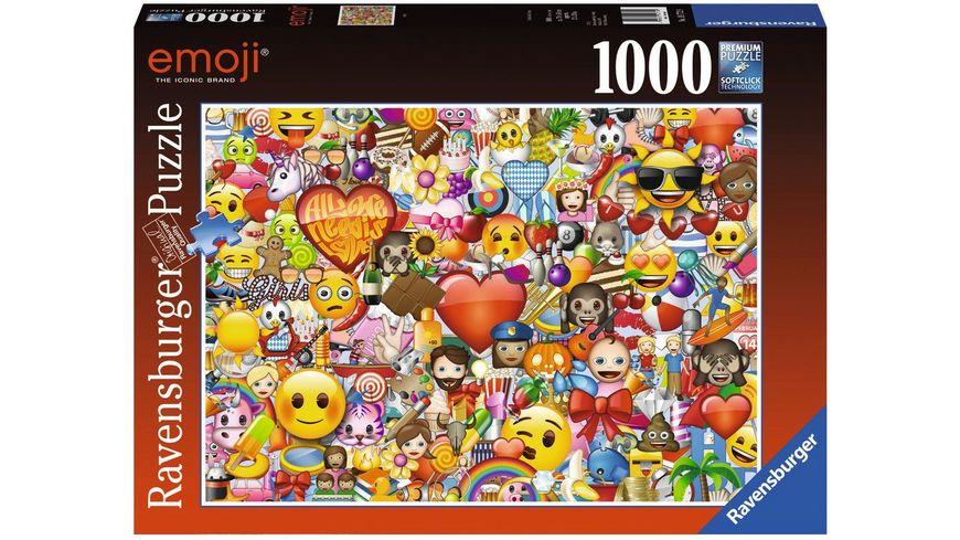 Ravensburger Puzzle Emoji 1000 Teile