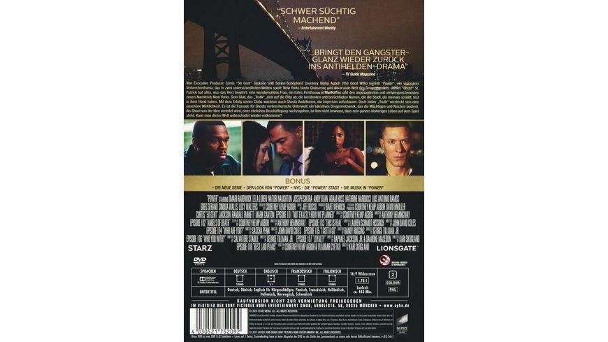 Power Die komplette erste Season 3 DVDs
