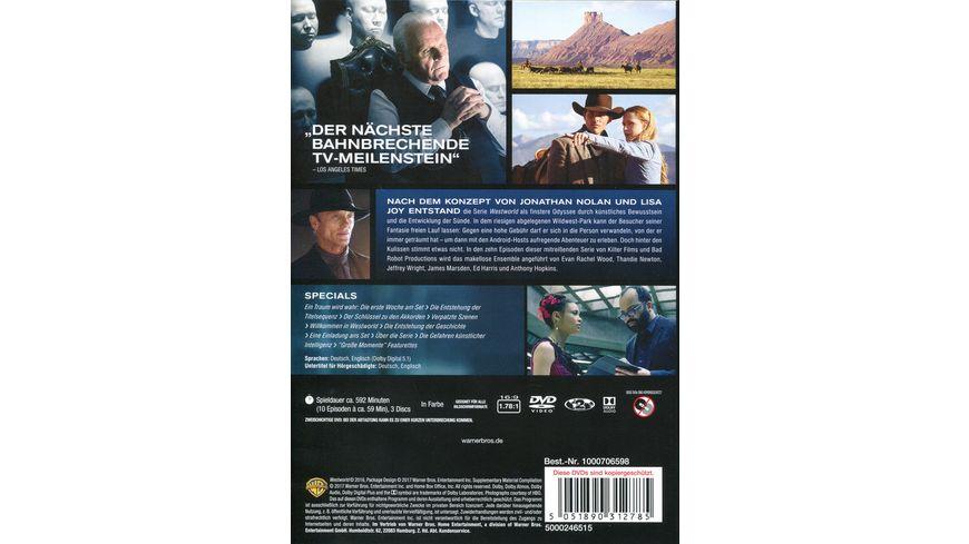 Westworld Die komplette 1 Staffel 3 DVDs