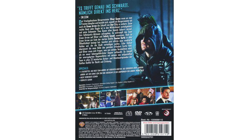 Arrow Staffel 5 5 DVDs