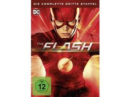 The Flash Die komplette 3 Staffel 6 DVDs