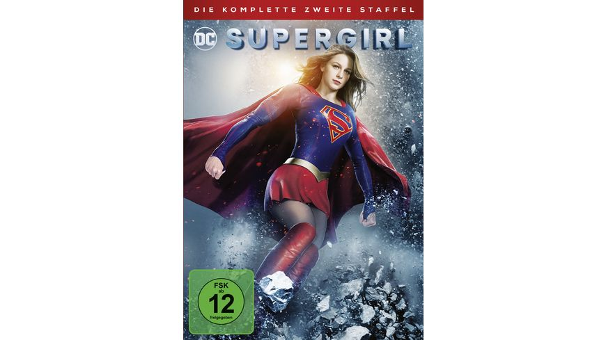 Supergirl Die komplette 2 Staffel 5 DVDs