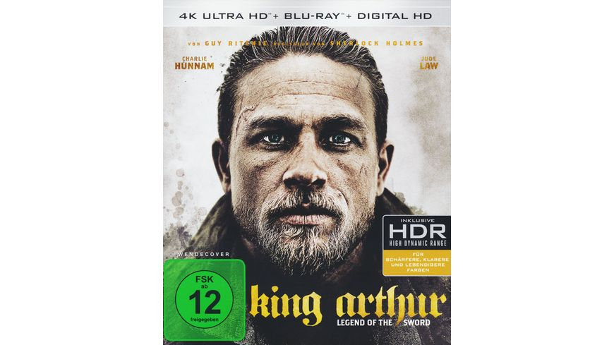 King Arthur Legend of the Sword 4K Ultra HD Blu ray