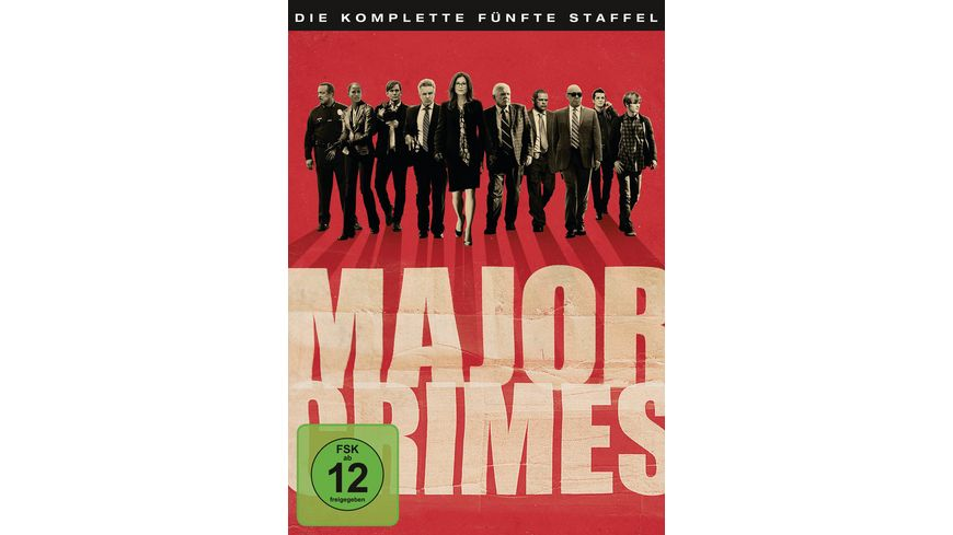 Major Crimes Staffel 5 5 DVDs