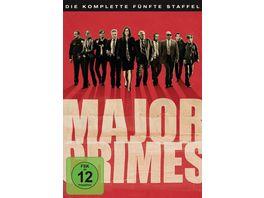 Major Crimes Staffel 5 5 DVDs