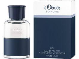 s Oliver So Pure Eau de Toilette Natural Spray