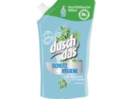 duschdas Handseife Schutz Hygiene Nachfuellpack