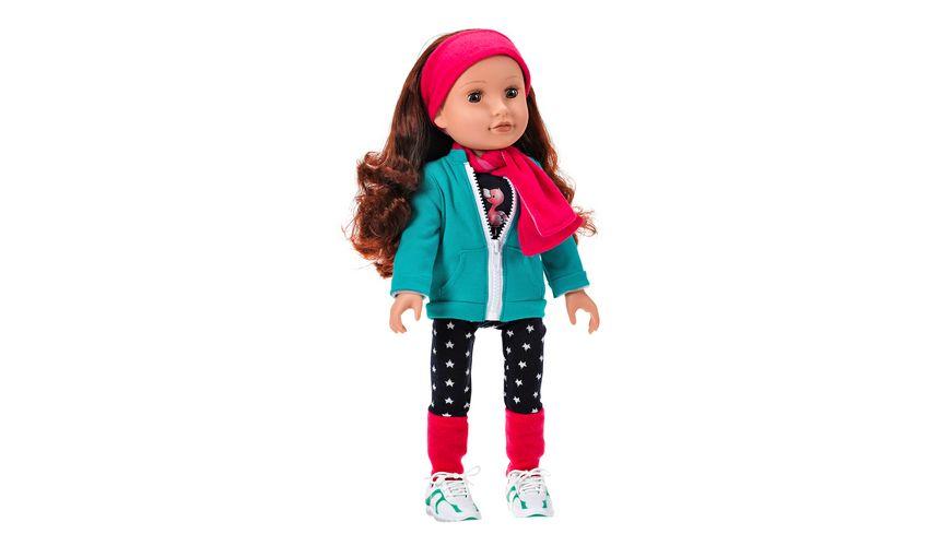 Mueller Toy Place Puppe Modern Girl Flamingo 45 cm bewegliche Augenlieder