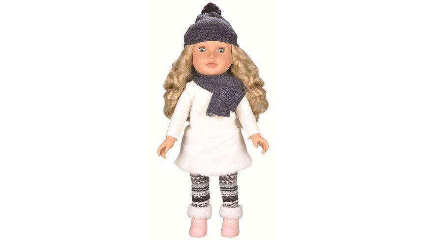 Mueller Toy Place Puppe Modern Girl Winter 45 cm bewegliche Augenlieder