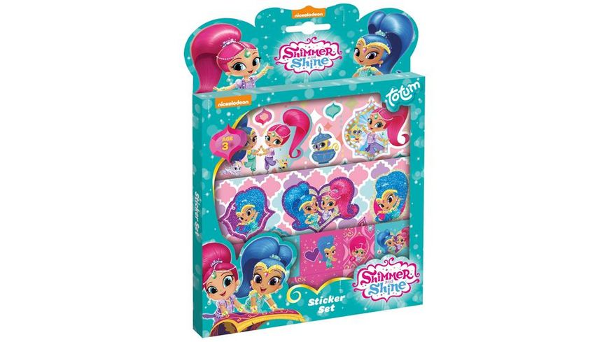 Totum Shimmer Shine Sticker Set