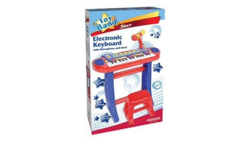 Bontempi Elektronisches Keyboard mit Hocker