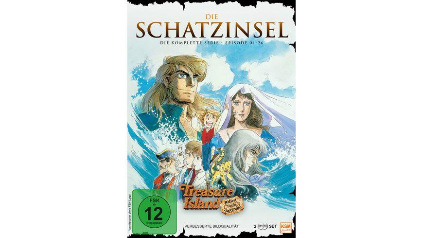 Die Schatzinsel Die komplette Serie 2 DVD