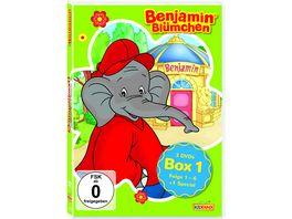 DVD Benjamin Bluemchen Sammelbox 1 Folgen 1 6 1 Special