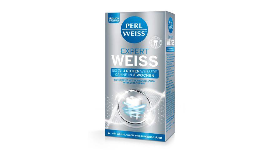 PERLWEISS Expert Weiss Zahnweiss Zahncreme