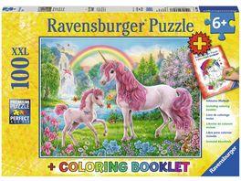 Ravensburger Puzzle Magische Einhoerner 100 Teile XXL