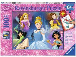 Ravensburger Puzzle Bezaubernde Prinzessinnen 100 Teile XXL