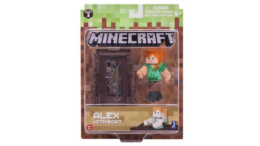 Jazwares Minecraft Alex mit Angel