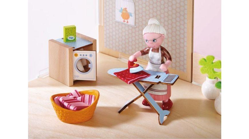 HABA Little Friends Puppenhaus Zubehoer Waschtag