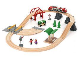 BRIO Bahn Rail und Road City Set