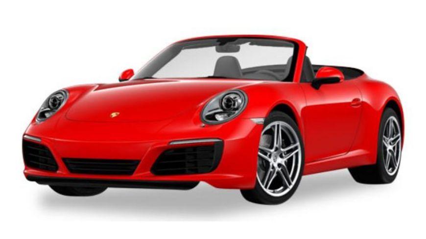 Herpa 28844 Porsche 911 Carrera 2 Cabrio indischrot