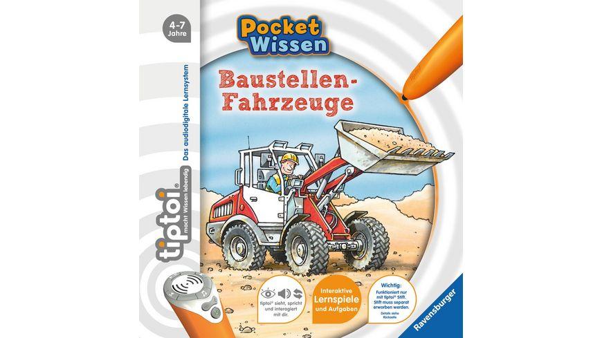 Ravensburger tiptoi Baustellen Fahrzeuge