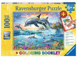 Ravensburger Puzzle Bunte Unterwasserwelt 100 Teile XXL