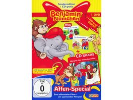 Benjamin Bluemchen Affen Special CD