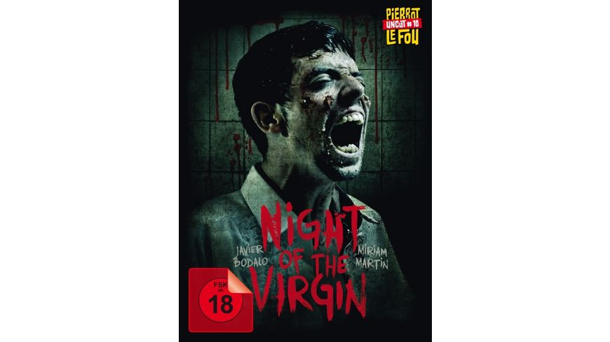 Night of the Virgin Limited Uncut Edition Mediabook DVD Bonus DVD