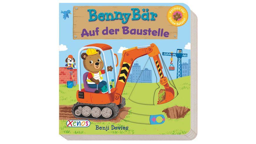 Benni Baer auf der Baustelle