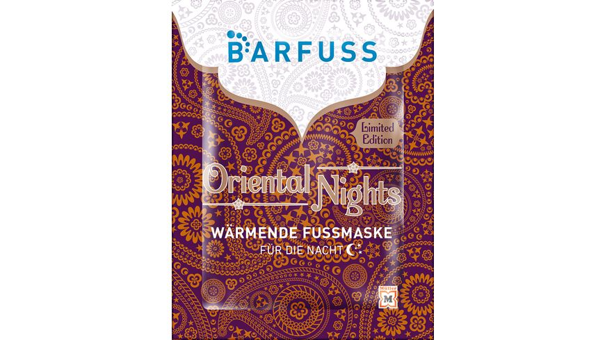 BARFUSS Fussmaske Oriental Nights