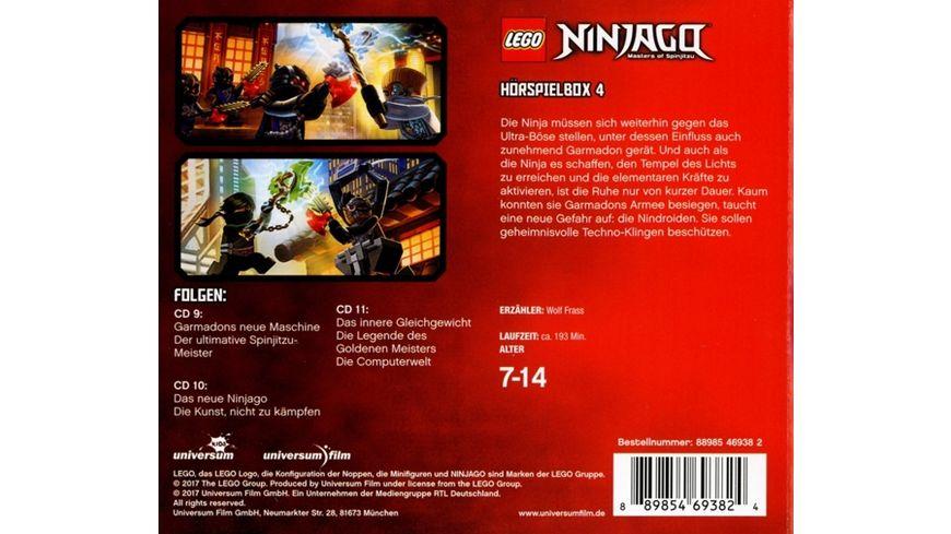 LEGO Ninjago Hoerspielbox 4