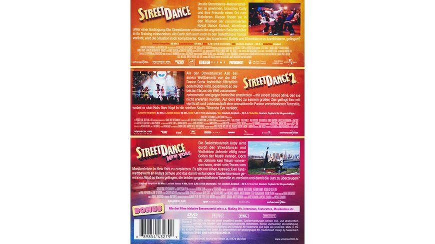 StreetDance Box 3 DVDs