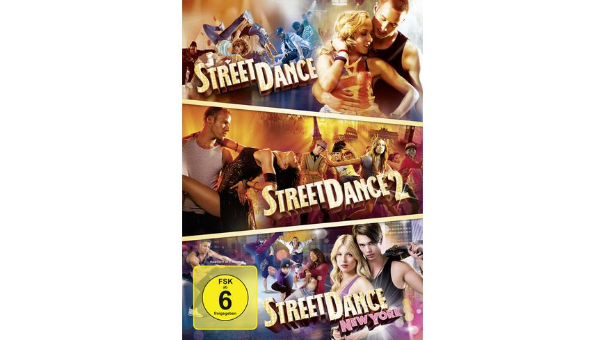 StreetDance Box 3 DVDs
