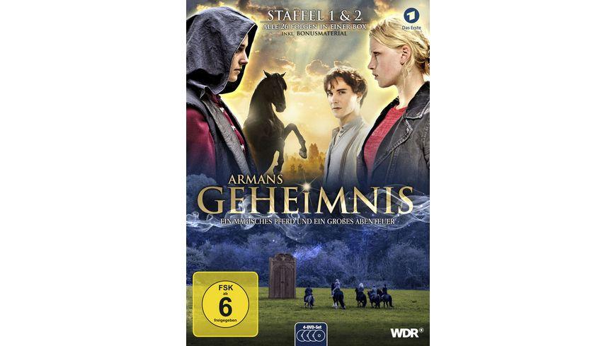 Armans Geheimnis Staffel 1 2 Die Collection 4 DVDs