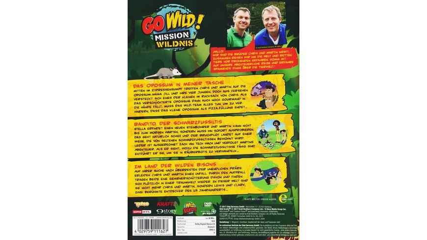 Go Wild Mission Wildnis Folge 25 Im Land der wilden Bisons
