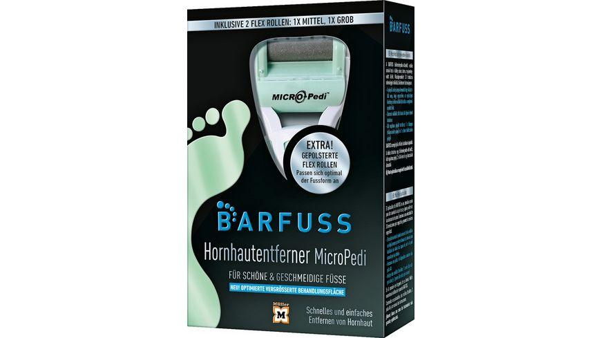 BARFUSS Hornhautentferner MicroPedi