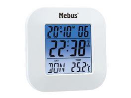 Mebus Digitaler Funkwecker ca 8 5 8 1 8 cm