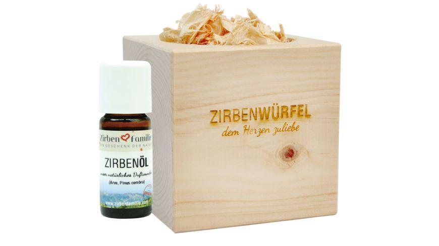 ZirbenFamilie Original ZirbenWuerfel Set