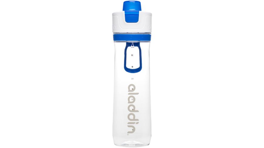 aladdin Active Hydration Tracker Bottle blau 0 8l