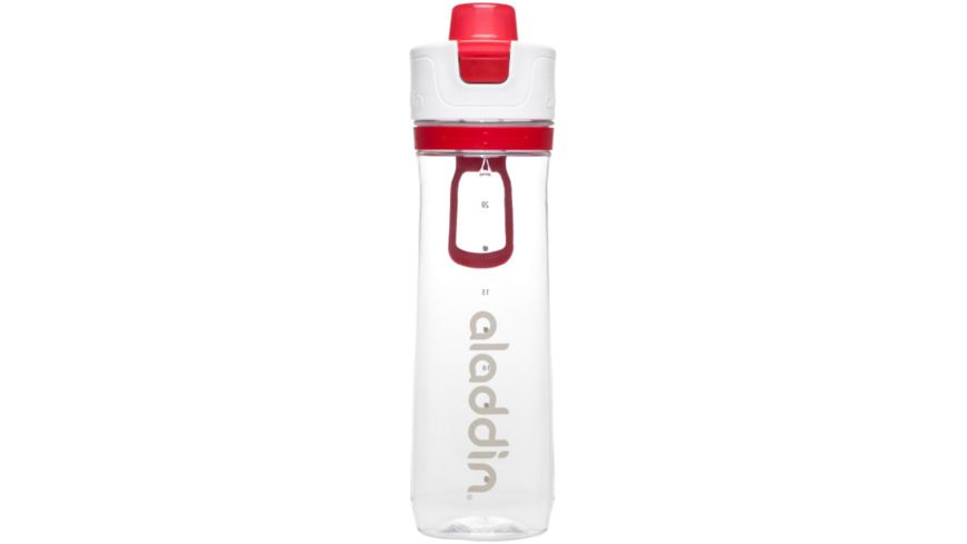 aladdin Active Hydration Tracker Bottle rot 0 8l