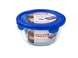 PYREX Vorratsdose aus Glas rund COOK GO 1 6l