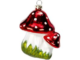 magic Glas Ornament Pilze