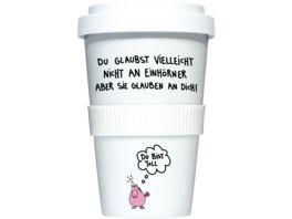 RANNENBERG FRIENDS Coffee to go Becher Du bist toll