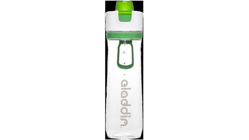 aladdin Active Hydration Tracker Bottle gruen 0 8l