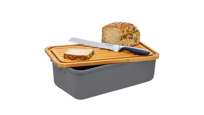 magu Brotkasten Natur Design Schiefer